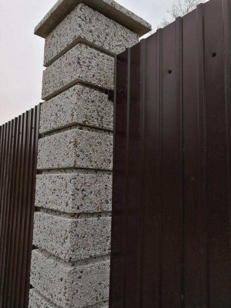 Забор пос. Изумрудный
