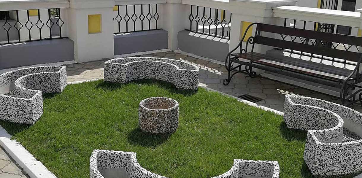 Малые архитектурные формы из бетона